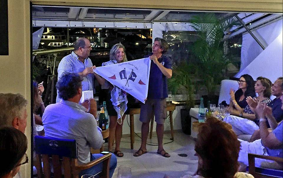 A special evening at the Gustavia Yacht Club January 7. Photo: Facebook Gustavia Yacht Club