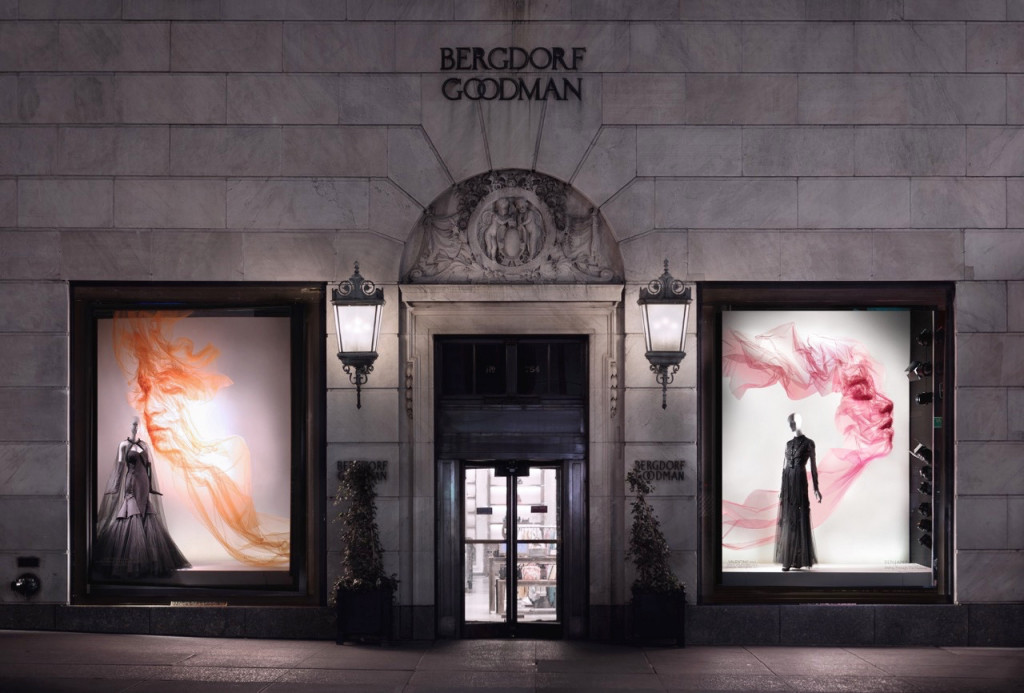 Seeing Through The Material at Bergdorf Goodman. Photo: Ricky Sehavi