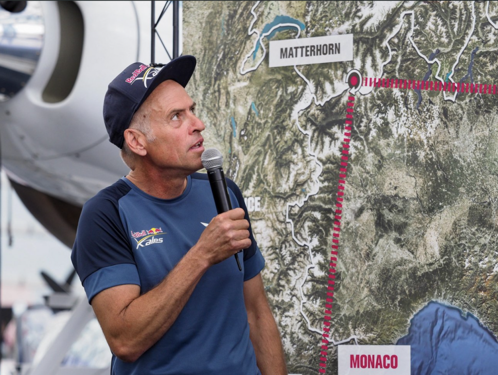 PHOTO: RED BULL X-ALPS 2017 PRESS CONFERENCE - http://www.redbullxalps.com