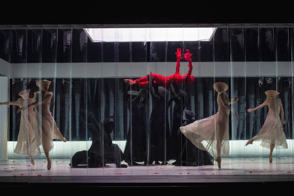 Choreography by Jeroen Verbruggen . Photo: Facebook Ballets De Monte Carlo