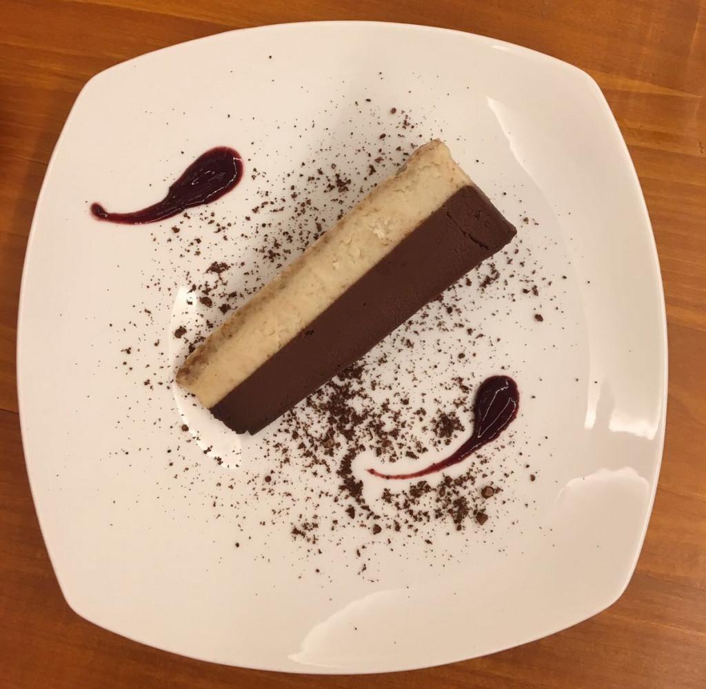 Love this raw chocolate cake at Eqvita
