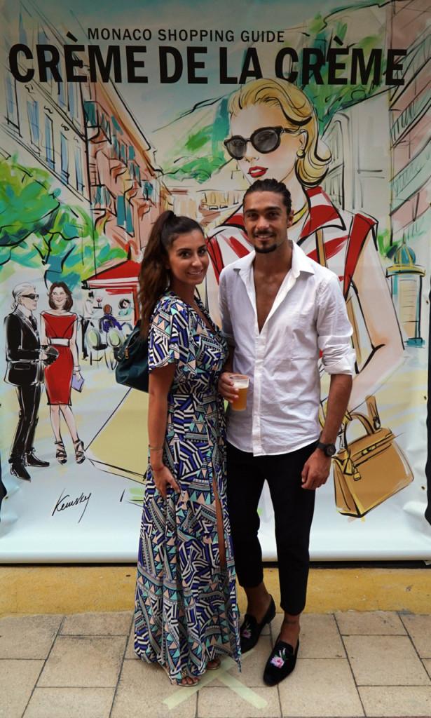 Reality stars Martika Caringella and Julien Guirado