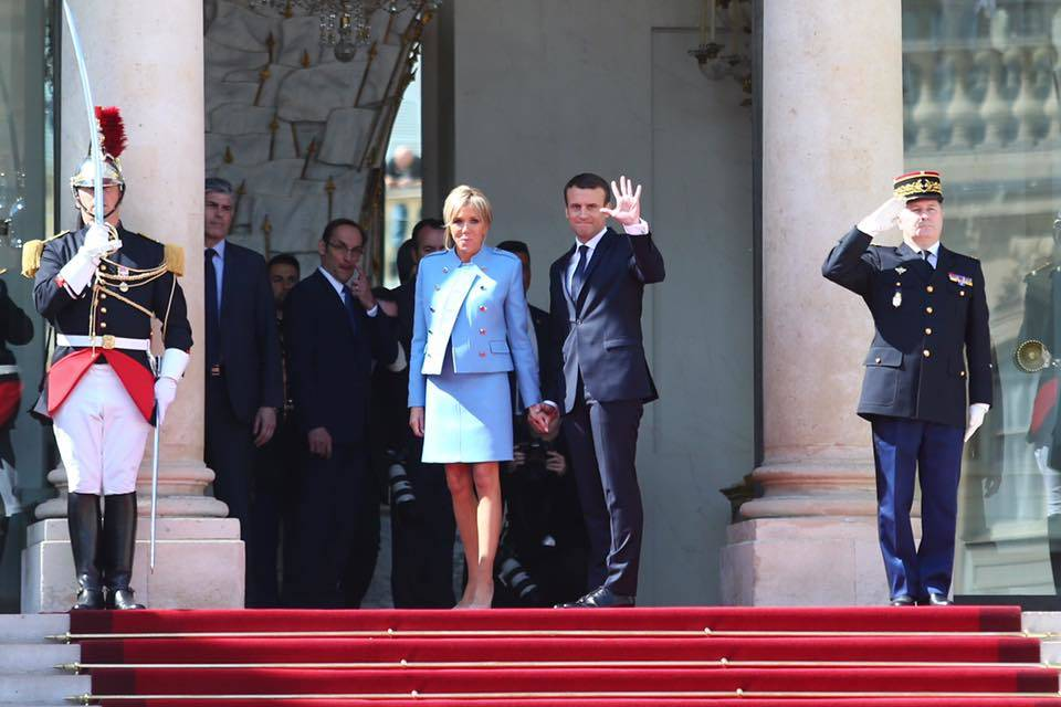 Photo: Facebook Élysée – Présidence de la République française