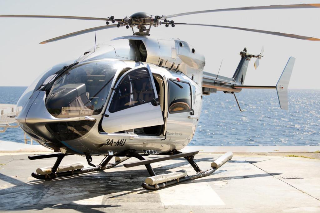 Avino helicopter