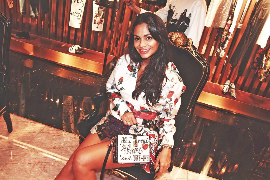 Hannah Romao, Dolce & Gabbana, Monte Carlo, fashion, style