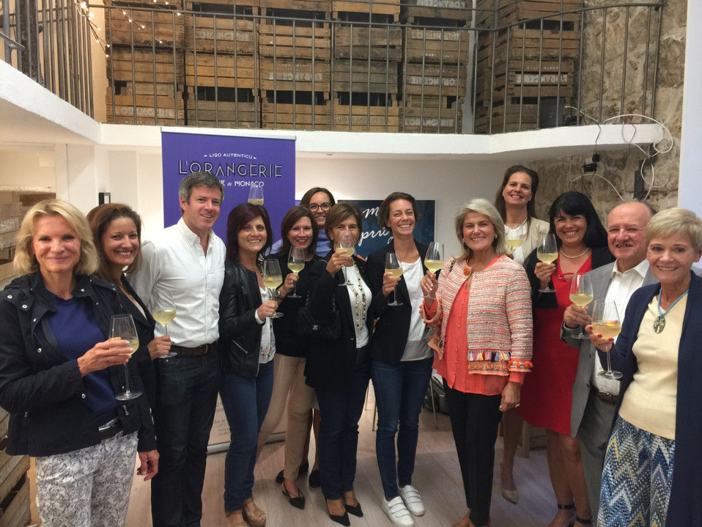 Association of Women Entrepreneurs of Monaco at l'Orangerie. Photo: Monaco Life