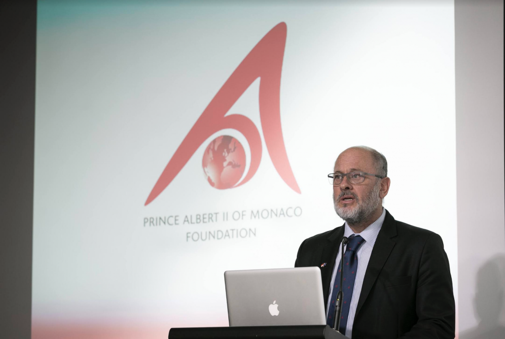 Professor Tim Flannery - Board Member, Prince Albert II Foundation. Photo: DC