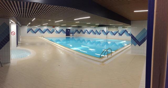 Saint Charles swimming pool. Photo: DC