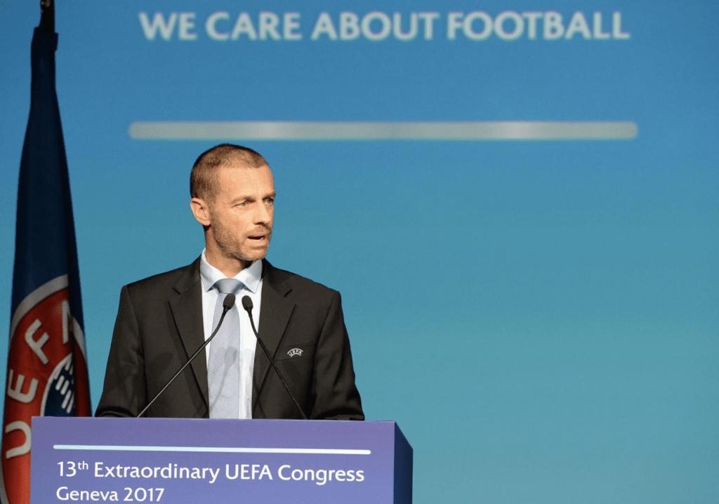 Aleksander Ceferin, UEFA, football