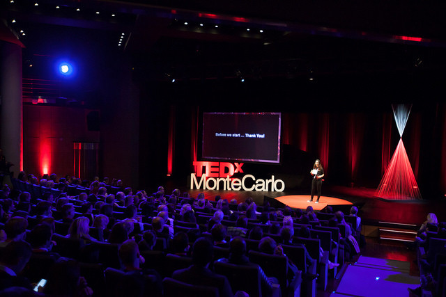 TEDxMonteCarlo 2016. Photo: Rainer Brunotte/Crevisio