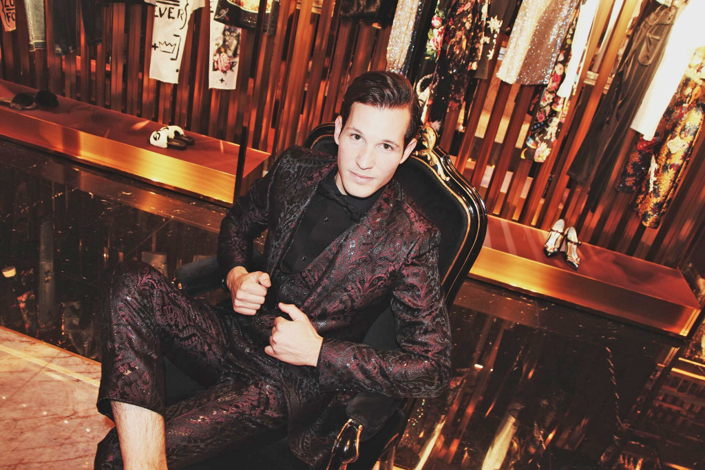 Tom Claeren, Dolce & Gabbana, Monte Carlo, fashion, style