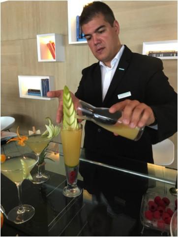 """We want to transform our hotel bar into Monaco's trendiest cocktail bar,"" says Yohann Loustaud"
