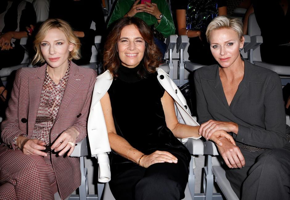 ate Blanchett, Giorgio's niece, Roberta Armani and Princess Charlene. Photo: Reuters with permission