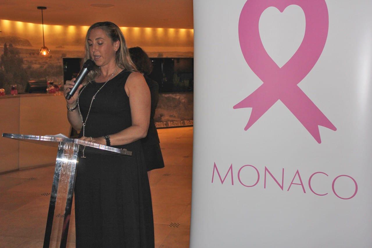Natasha Frost, Pink Ribbon Monaco. Photo Monaco Life