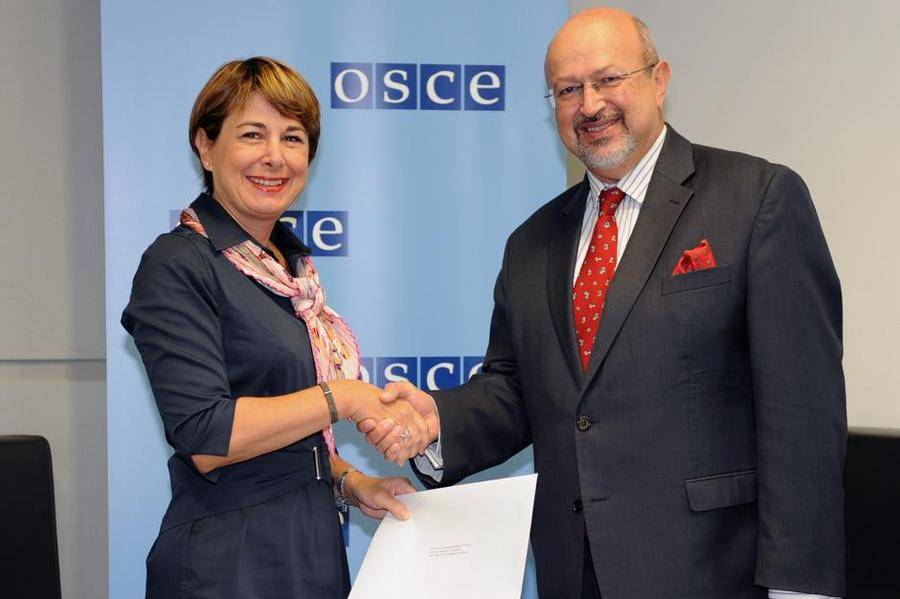 Isabelle Berro-Amadei. Photo: OSCE