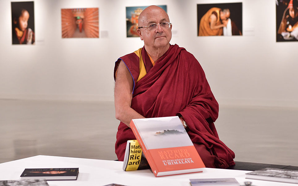 Matthieu Ricard. Photo: Charly Gallo/DC