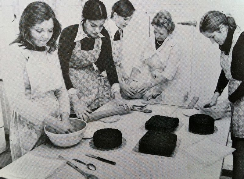 Paddock Wood Finishing School for Girls. Photo: Courtesy of Pippa Anderson
