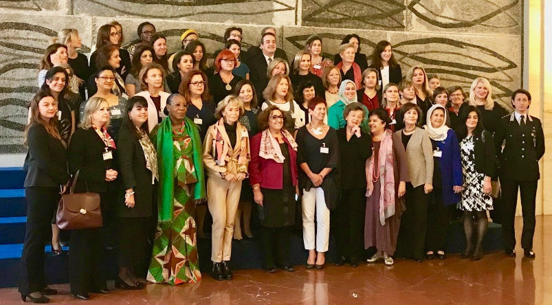 Members of the Network of Women Mediators for the Mediterranean Region. Photo: DR