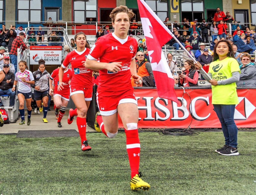 2017 Rugby Player of the Year Award nominee Ghislaine Landry (Canada)L Photo: Twitter Ghislaine Landry