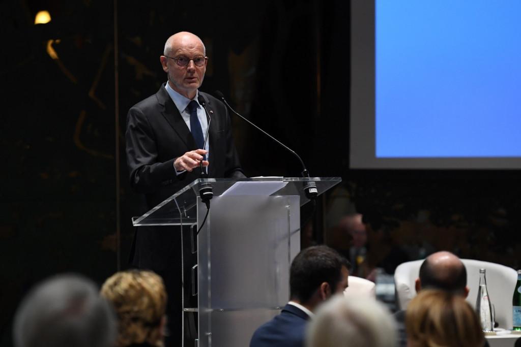 Minister of State, Serge Telle © Direction de la Communication/Manuel Vitali