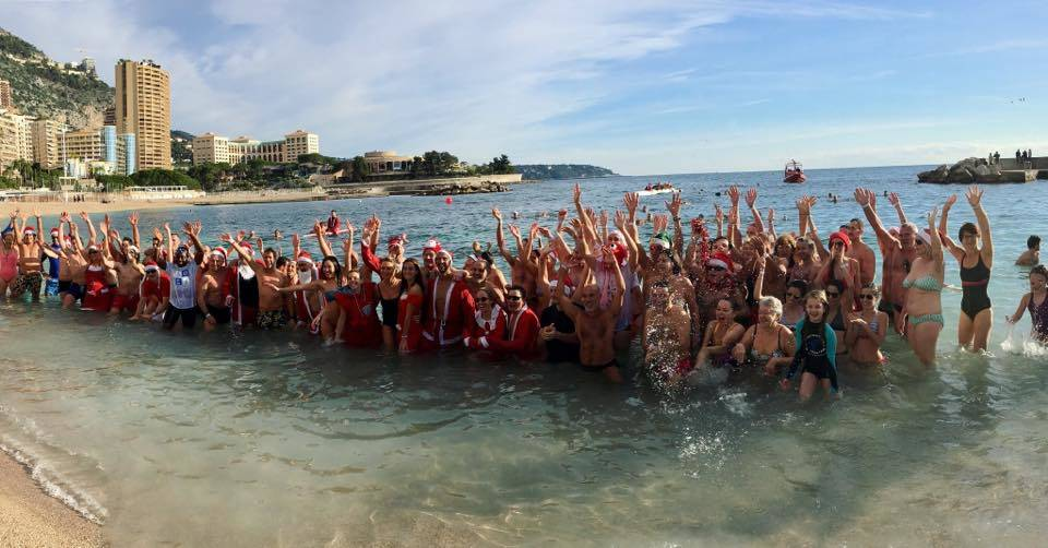 Photo: Facebook Association Les Amis du Bain de Noël de Monaco