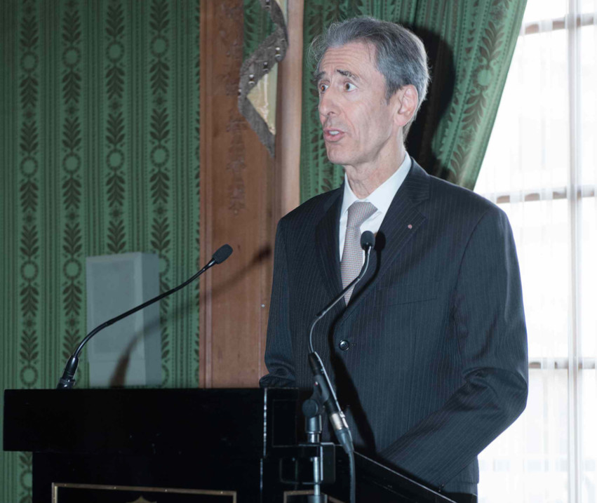 Minister of Foreign Affairs and Cooperation, Gilles Tonelli. Photo: DC