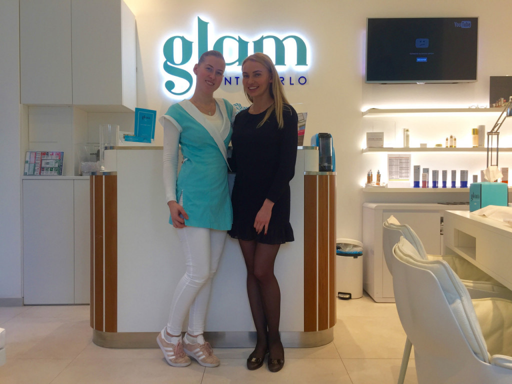 Founders of Glam Monte Carlo Anna Lunhu (right) with sister Photo: Monaco Life