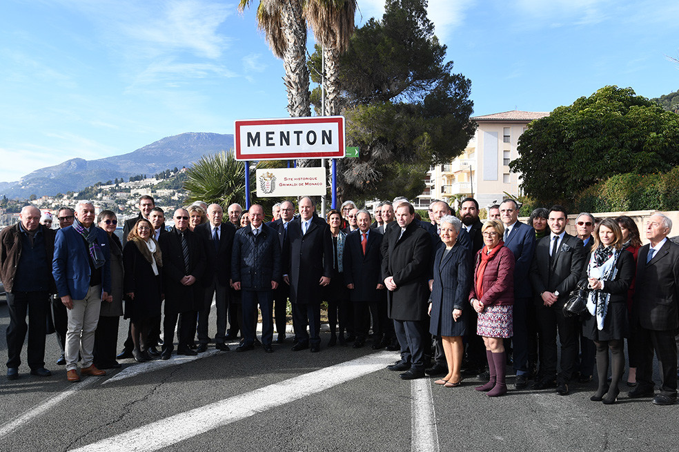Inauguration Plaque Sites Historiques Grimaldi