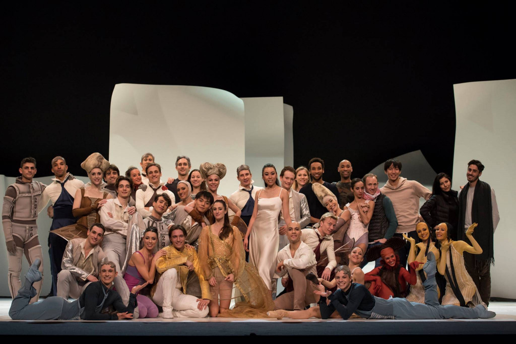 Opening night of Cendrillon in Lausanne. Photo: Alice Blangero