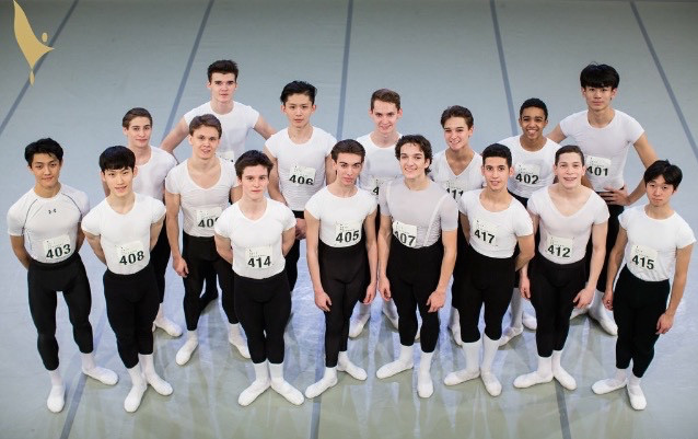Finalists at 46th Prix de Lausanne.