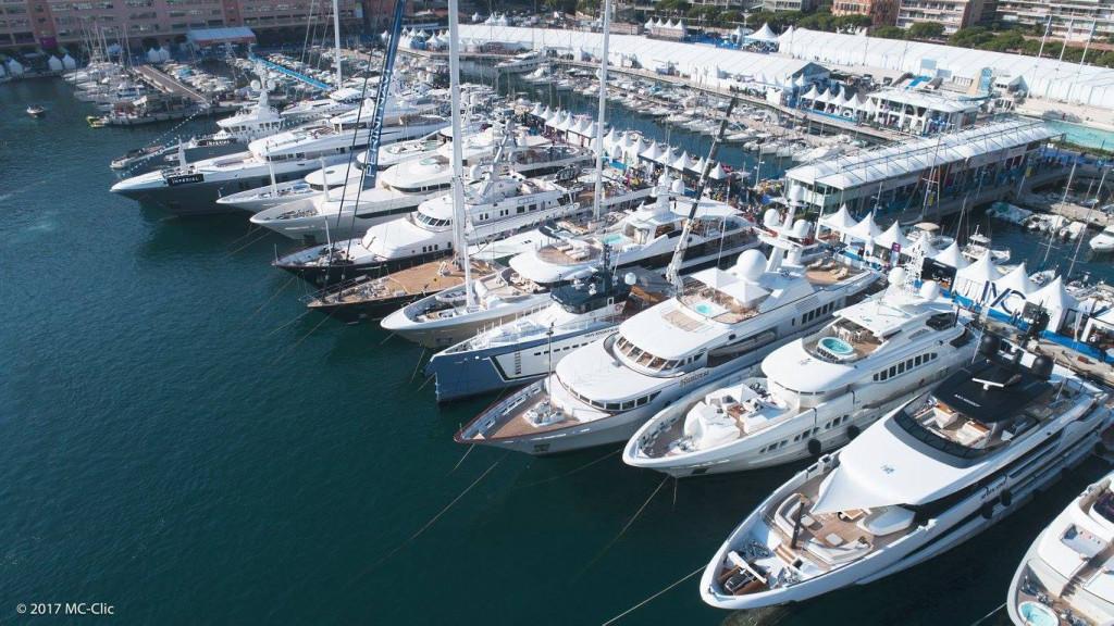 Monaco Yacht Show 2017. Photo: Facebook Monaco Yacht Show