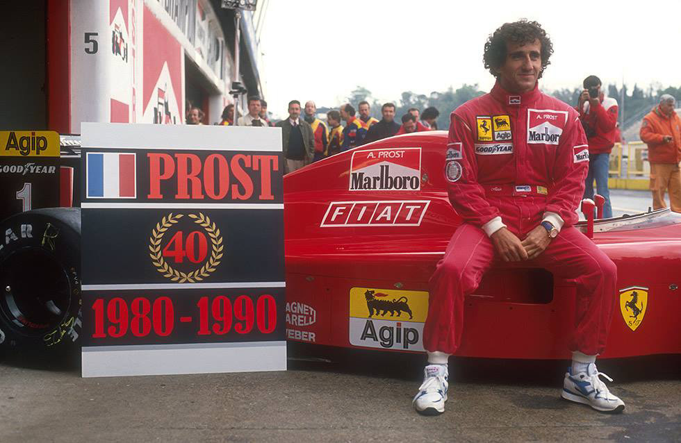 Photo: Facebook Alain Prost F1