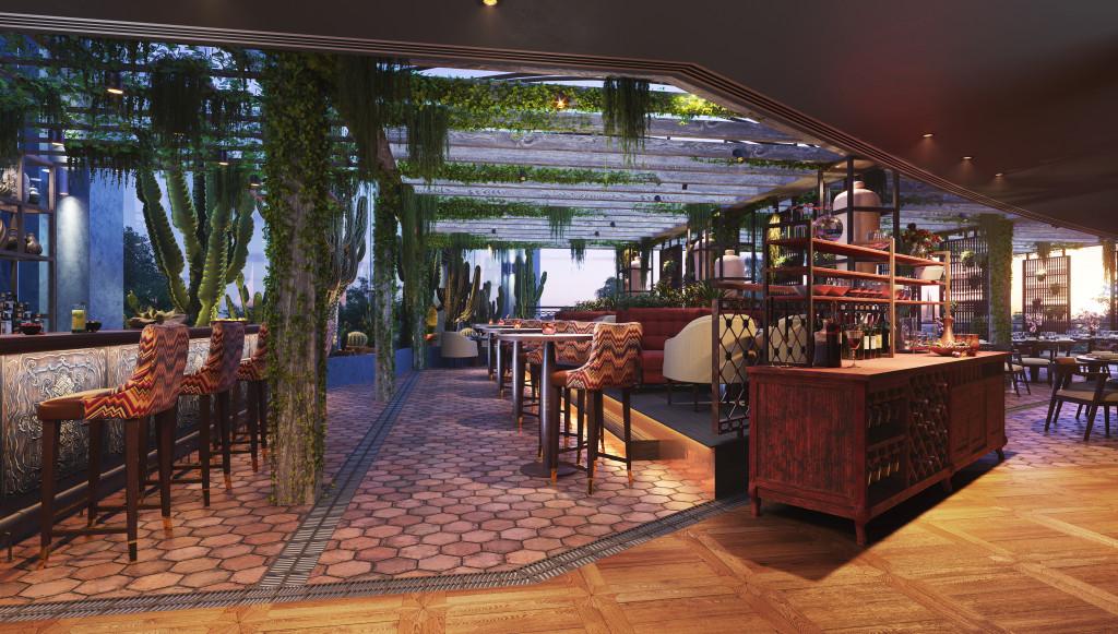 COYA's new Monte Carlo restaurant. Photo: COYA