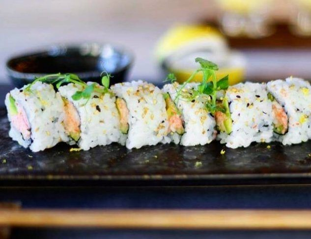 Moshi Moshi California Riviera rolls with King Crab, Yuzu crab cream, avocado & cucumber. Photo: Facebook Moshi Moshi