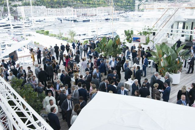 MEB Members Rendezvous – Networking Cocktail at the Monaco Yacht Club. Photo: Stéphane Danna/Realis