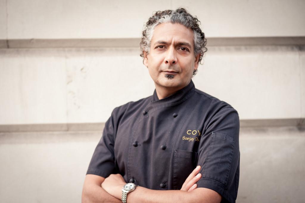Chef Sanjay Dwivedi. Photo: COYA