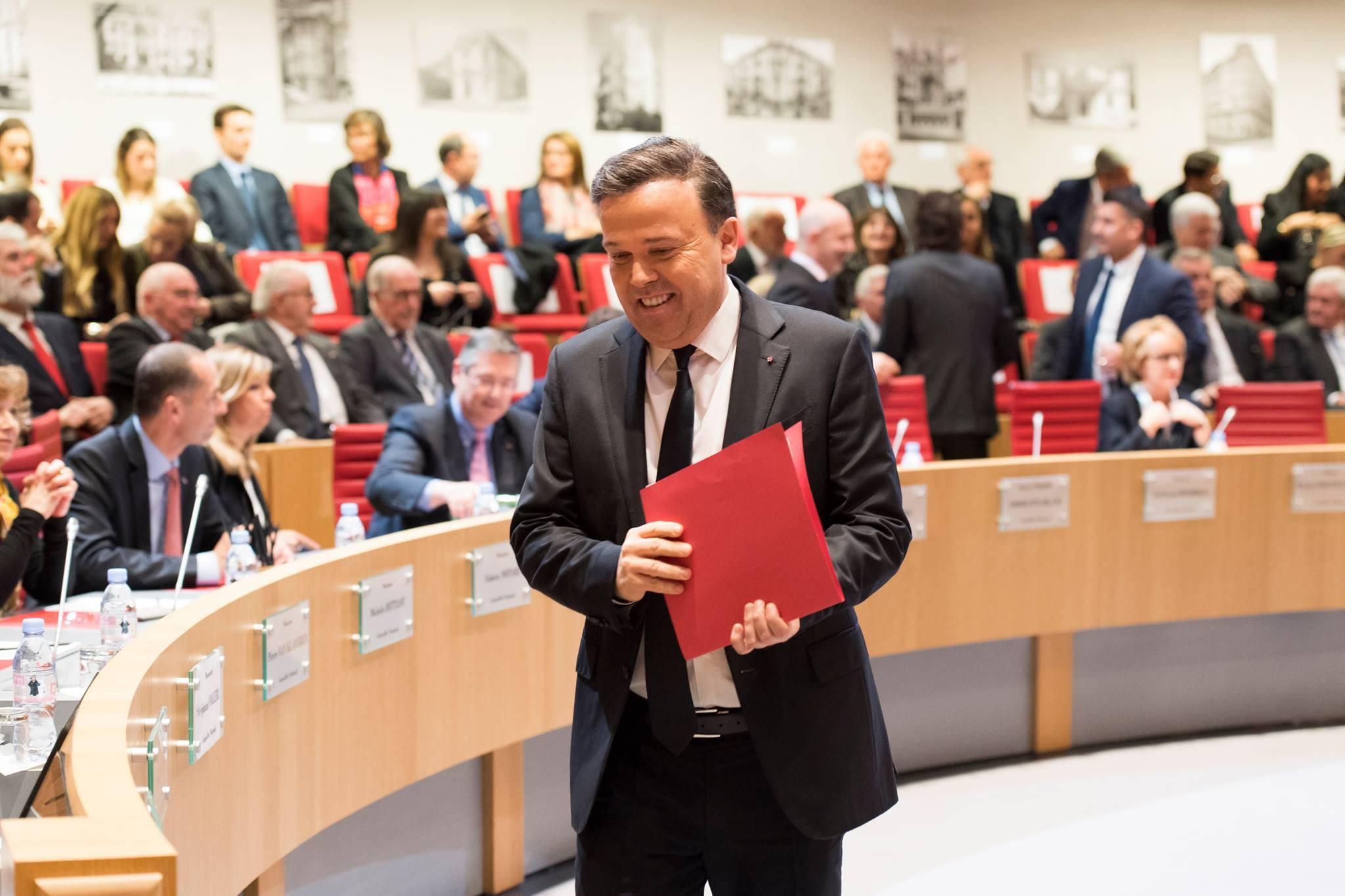Stéphane Valeri, President of the National Council. Photo: Facebook Conseil National de Monaco