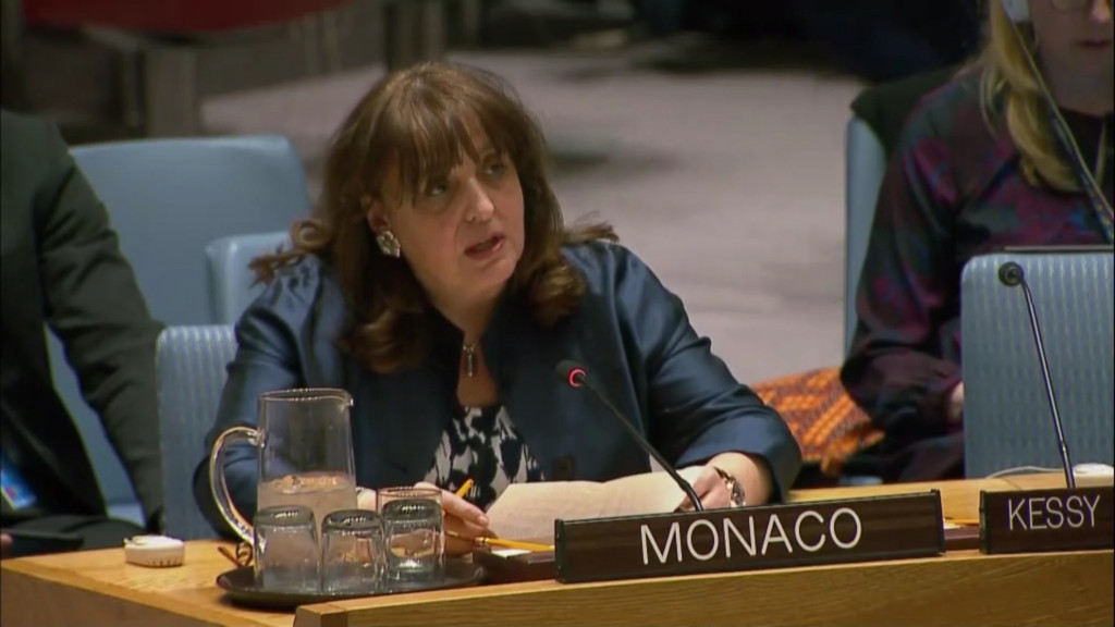 HE Isabelle Picco, Ambassador and Permanent Representative of Monaco to the United Nations. Photo: DR