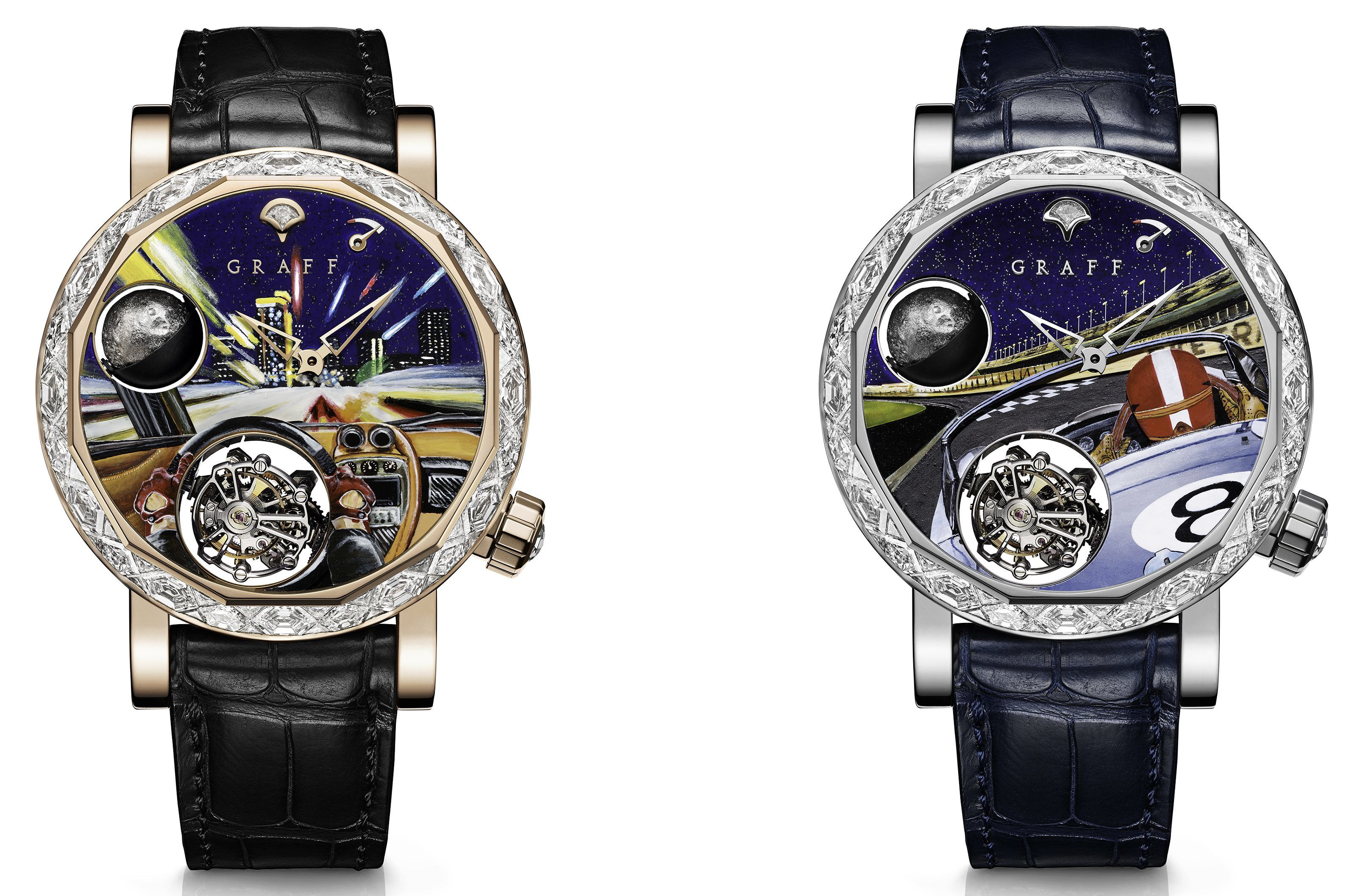MasterGraff Ultra Flat Tourbillon Samurai Warrior