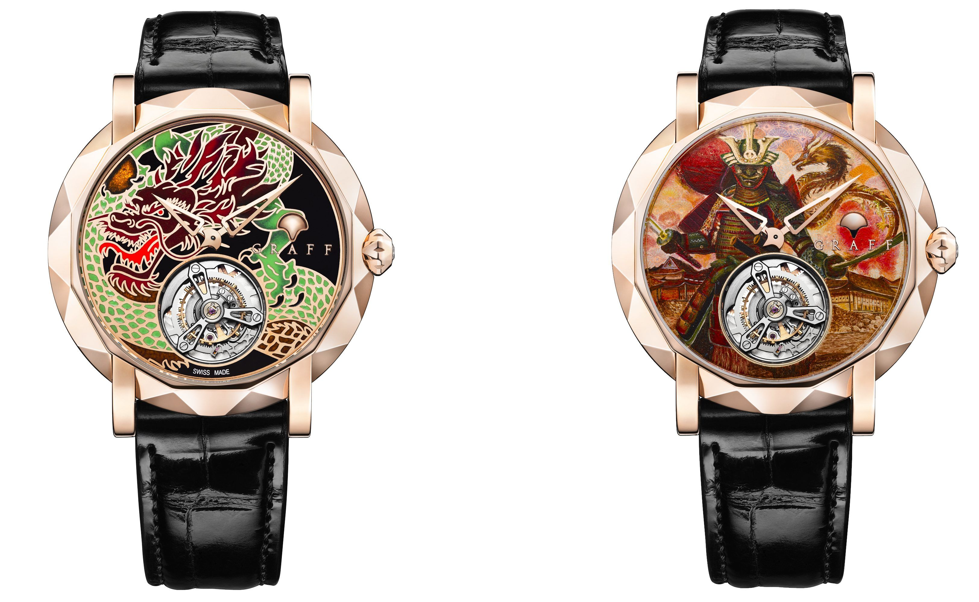 MasterGraff Ultra Flat Tourbillon Dragon