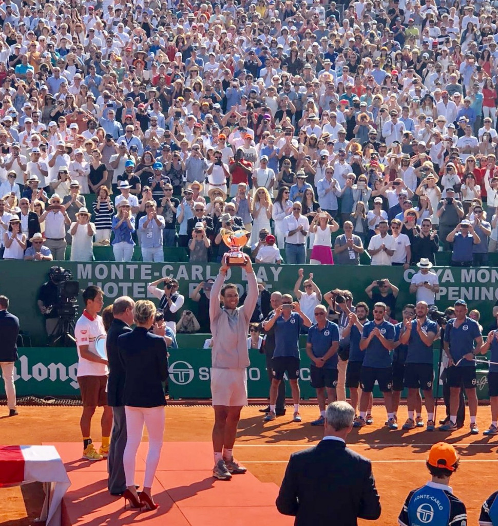 Nadal win's 11th consecutive Rolex Monte Carlo Masters. Photo: Monaco Life