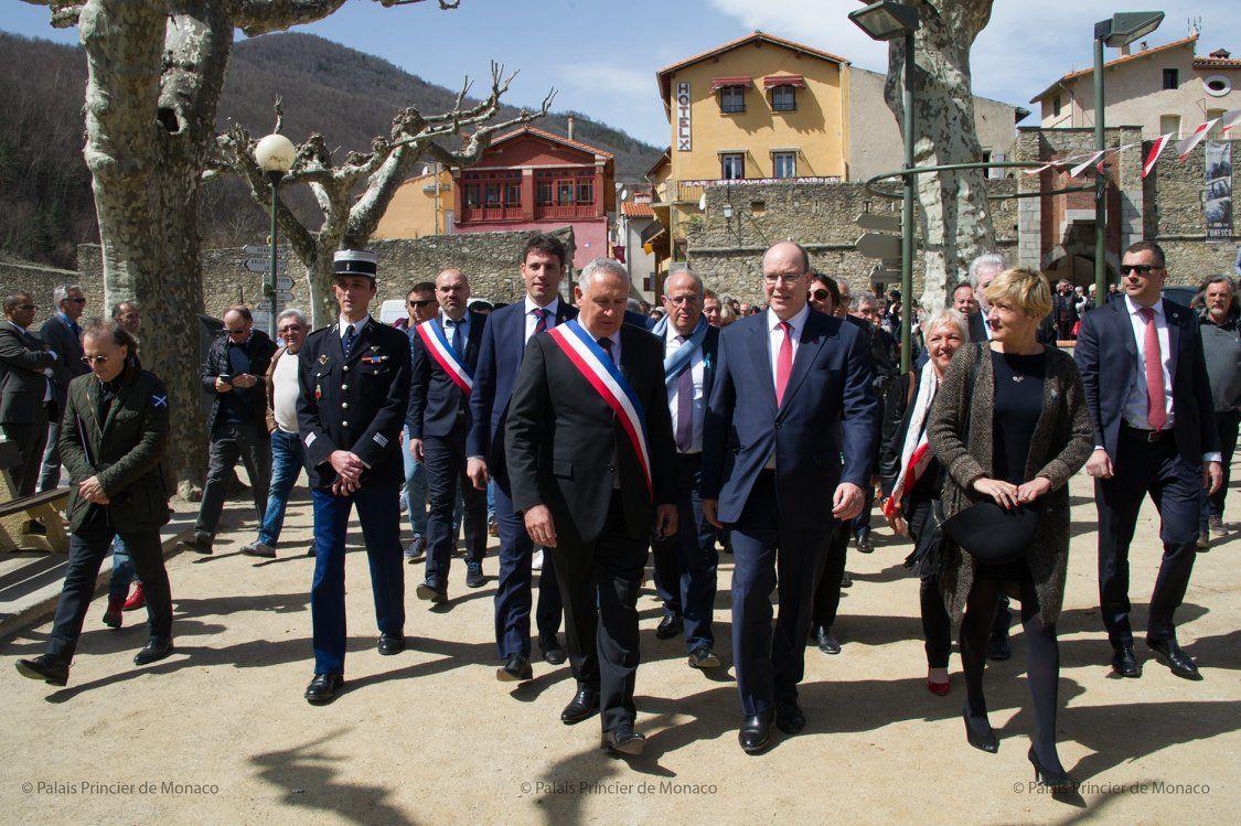 Atelier Du Bois Monaco prince honours young grimaldi soldier in pyrenees-orientales