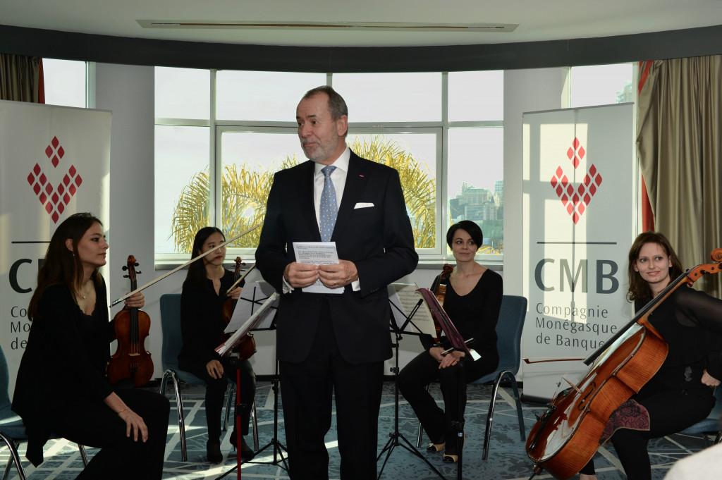 Werner Peyer, CEO CMB