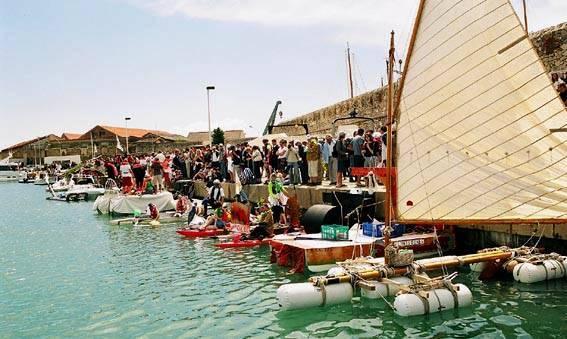 Photo: Facebook Antibes Raft Race