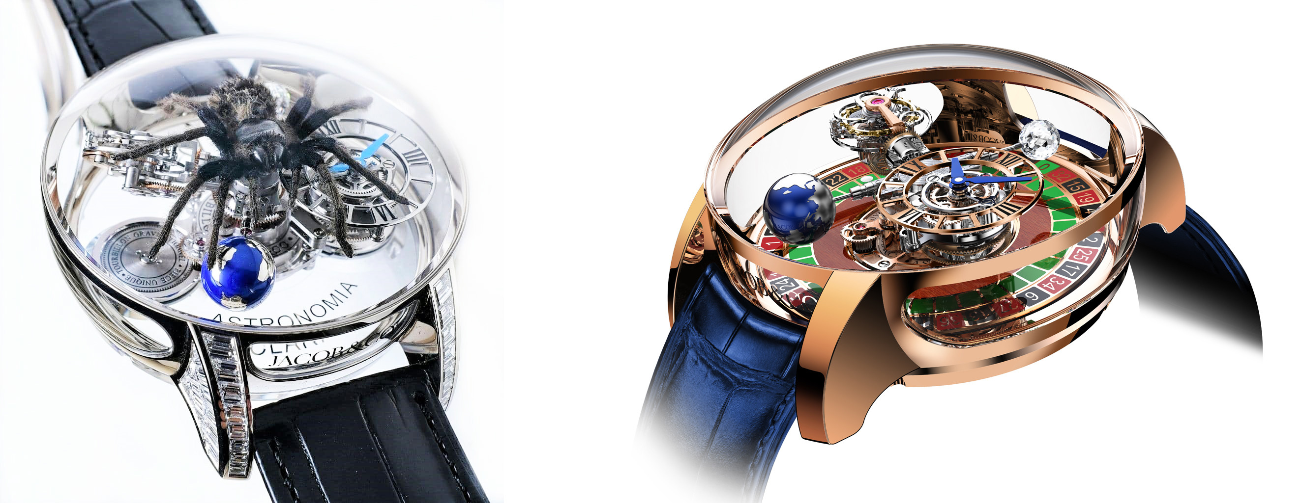 Astronomia Tourbillion Spider and Astronomia Tourbillion Gambler