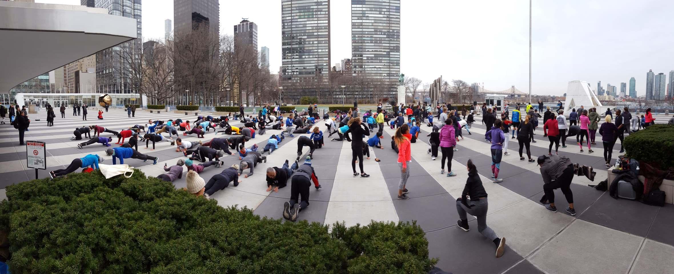 Ironstrength Workout. Photo: DC