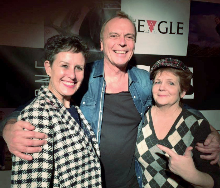 Alicia Sedgwick, Mike and with Annette Anderson