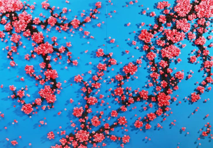 Hwang Ran, Healing Blossoms. Photo: Courtesy of artist and Opera Gallery