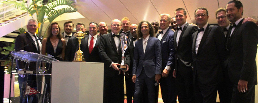 Celebrity Golf Cup Monaco 2018 - Prince Albert and Kenny G