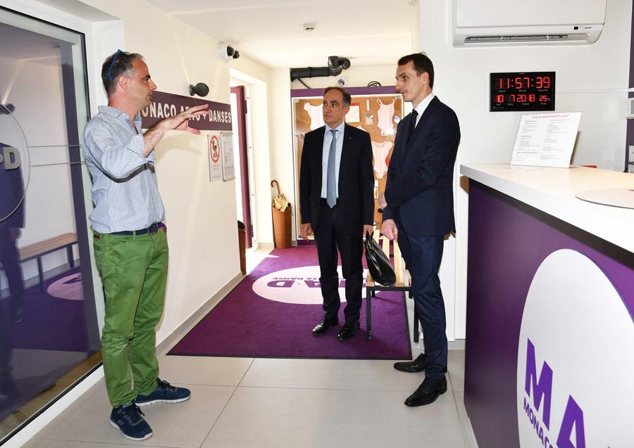 Jean Castellini visits MAD